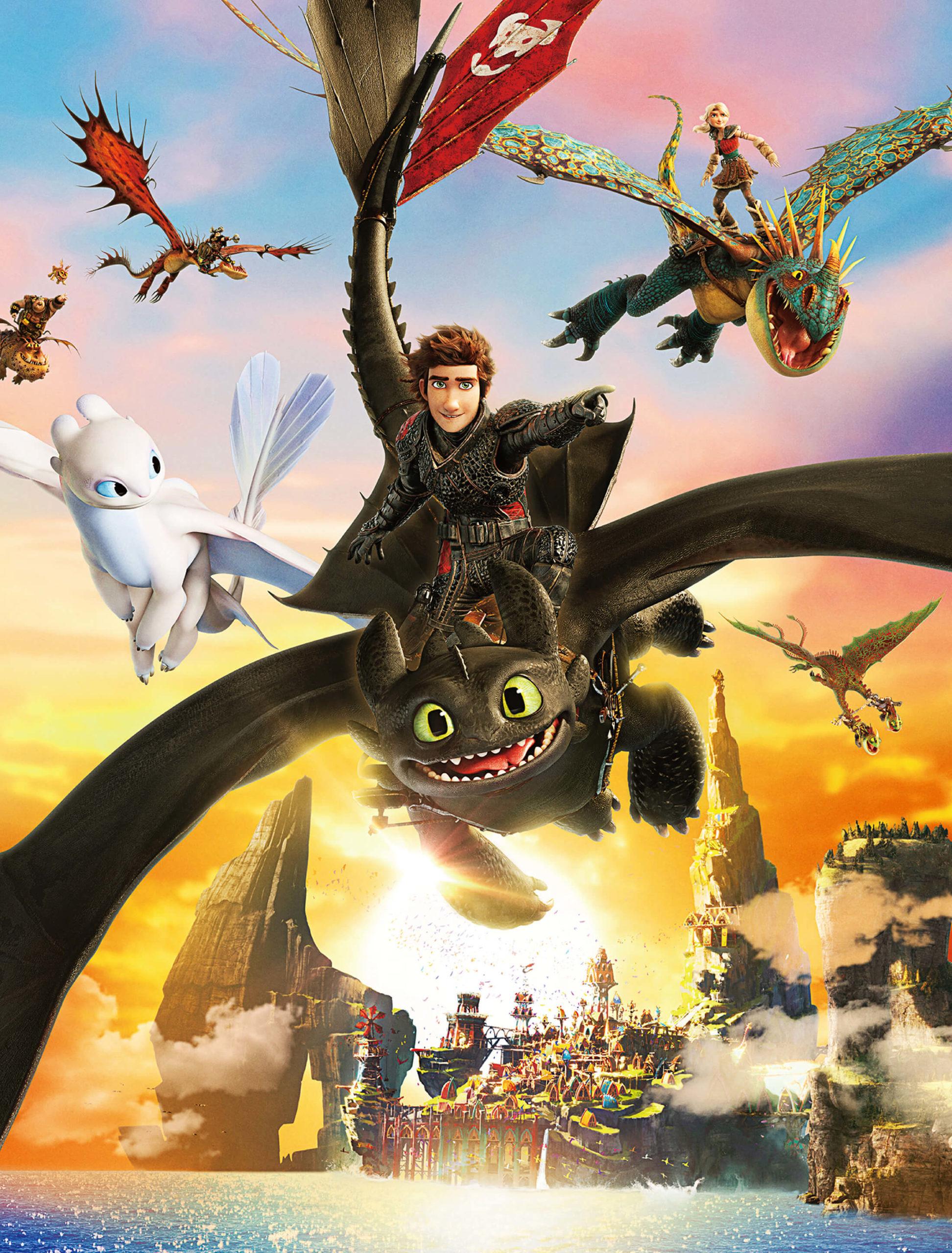 ヒックとドラゴン聖地への冒険 画像