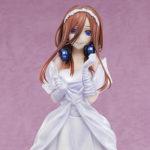 TVアニメ『五等分の花嫁∬』より純白のウェディングドレスを身にまとった「中野三玖」のフィギュアが登場!