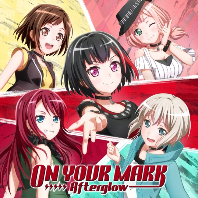 Afterglow 5th Single「ON YOUR MARK」 画像